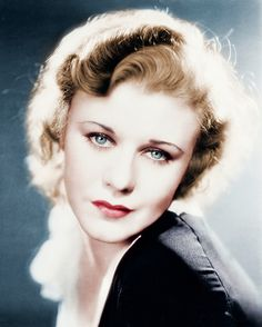 circa 1930: Ginger Rogers, American Actress And Singer