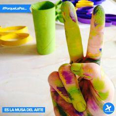 #PorqueLaPaz... es la musa del arte!