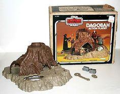Found Post: Vintage Kenner 1980 STAR WARS Dagobah Action Playset w/Original Box - Incomplete | FyndIt