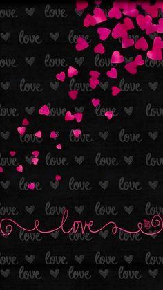 ideas for wallpaper whatsapp pink love phone wallpapers Heart Wallpaper, Cute Wallpaper Backgrounds, Wallpaper Iphone Cute, Cellphone Wallpaper, Black Wallpaper, Mobile Wallpaper, Valentine Wallpaper, Aztec Wallpaper, Wallpaper Designs