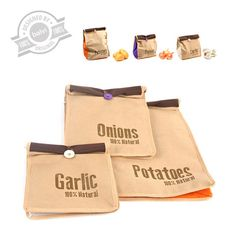 Veggies storage bags Super Fresh x3 - Balvi