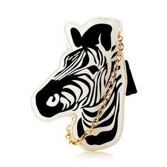 H! by Henry Holland zebra bag <3