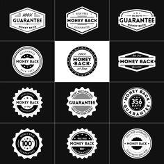 Guarantee Badges - Black