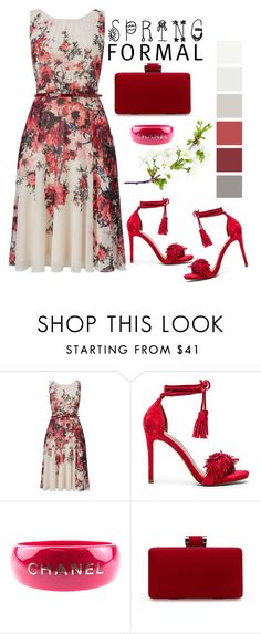 """""""Spring"""" by pamela-802 ❤ liked on Polyvore featuring Phase Eight, Steve Madden, Chanel and springformal"""