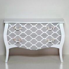 Furniture stencils - Stencils for furniture and fabrics - Cutting Edge Stencils