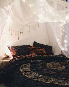 50 amazing bohemian bedroom decor ideas (50)