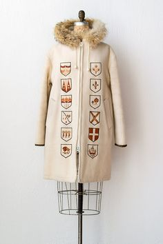 vintage 1960s hudson bay coat | 60s coat | Northern Emblems Parka