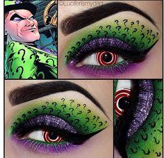 Awesome makeup art