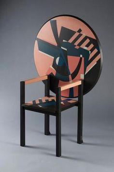 """Alessandro MENDINI (né en 1931), édition Zanotta, fauteuil modèle """"Zabro"""""""
