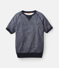 JACK SPADE / Knits Herrity Short-Sleeve Sweatshirt