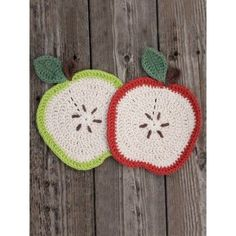 Apple a Day Dishcloth