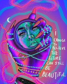Arte Alien, Psychadelic Art, Psychedelic Drawings, Trippy Painting, Stoner Art, Hippie Wallpaper, Black Girl Art, Hippie Art, Dope Art