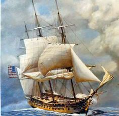 36-gun frigate USS Constellation
