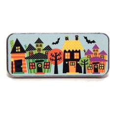 Magnetic Needle Case Needle Slider Case Spooksville by PinoyStitch