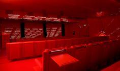 Auditorium seat of MACRO   Studio Odile Decq