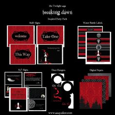 ON SALE Twilight Saga Breaking Dawn Part 1 Inspired by SassyAlice2, $10.00 #SassyBD2Party