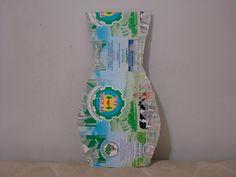 Criando com amor Nani e Mari:  Moldes de Vasos feito com Caixa de Leite - Artesa...