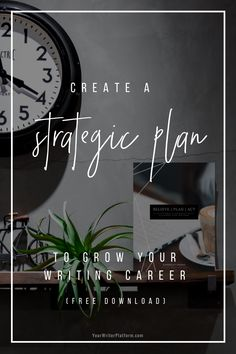 Build your writer platform, grow your author biz AND still find time to write with Believe, Plan, Act: A Platform + Productivity Planner for Writers Writing A Business Plan, Writing Advice, Business Planning, Writing A Book, Writing Quotes, Writing Notebook, Print On Demand, Writing Images, Make Money Writing