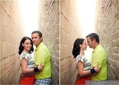 Downtown Scottsdale engagement session with Emily Snitzer Photography