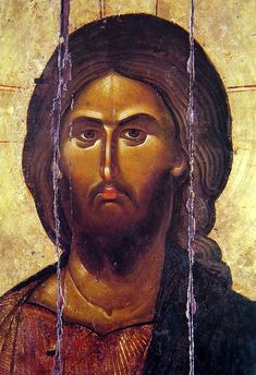 Orthodox icon of our Lord Jesus Christ Pantokrator Icon of 13 cent. Monastery of Vatopaidi Mount Athos. Byzantine Icons, Byzantine Art, Religious Icons, Religious Art, Christus Pantokrator, Images Of Christ, Jesus Face, Russian Icons, Russian Orthodox