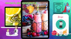 Build your immune system to fight covid 19, corona virus. Healthy Juices, Smoothies Happy Healthy, How To Stay Healthy, Juice Smoothie, Smoothies, Smoothie Recipe Book, Netflix Trailers, Staying Strong, Boost Immune System, New Program