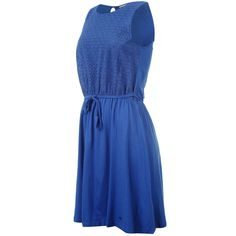 Lee Cooper | Lee Cooper Broderie Dress Ladies | Ladies Dresses