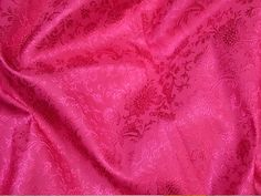 Magenta Crafting Sewing Wedding Dress Fabric floral Jacquard | Etsy Brocade Saree, Banarsi Saree, Brocade Fabric, Jacquard Fabric, Cotton Silk, Printed Cotton, Ikat Fabric, Fabric Sofa, Indian Fabric