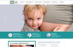 PORTFOLIO: progettazione e realizzazione sito internet Centro Aiuto alla Vita di Biella. Prossimamente on-line! ;-)