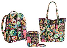 Tote bag! Disney Collection by Vera Bradley Coming to Walt Disney World Resort on September 21, 2013 « Disney Parks Blog