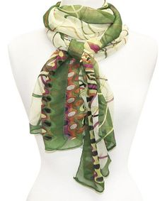 Another great find on #zulily! Green Status Scarf  $8.99 http://www.zulily.com/invite/jzabrowski188