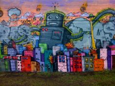 One of the great pieces of graffiti in Reykjavik, one of my favorite cities.