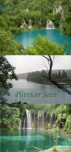 Plitvicer Seen Kroatien - Wasserfälle in Kroatien | Plitvička Jezera National Park #plitvicerseen #kroatien #Wasserfälle http://www.the-inspiring-life.com/2015/04/fernweh-wanderlust-plitvicer-seen.html