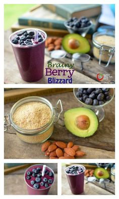 Berry Brainy Blizzar