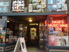 Great music store in South Side