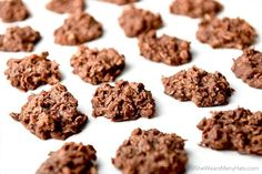 These easy no bake cookies are made with chocolate, coconut, oatmeal. They can be made in no time and are great for sharing during the holidays.