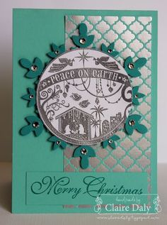 Stampin Up Wonderful Blessing, Winter Frost, Festive Flurries, Greetings of The Season. #stampinupaustralia #stampinup