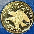 Bicentennial Gold - Gold Proof Bicentennial Council of 13 Original States 0500 fine 1 20 ozt C502  http://www.coinsandbullion.net/bicentennial-gold/#