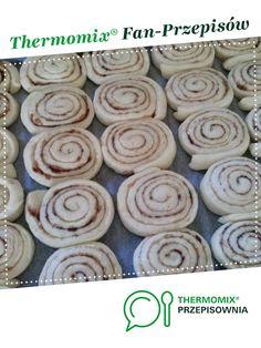 CYNAMONOWE ŚLIMACZKI jest to przepis stworzony przez użytkownika magdaosypanka. Ten przepis na Thermomix<sup>®</sup> znajdziesz w kategorii Słodkie wypieki na www.przepisownia.pl, społeczności Thermomix<sup>®</sup>. Food Cakes, Cake Recipes, Kitchens, Thermomix, Cakes, Easy Cake Recipes, Kuchen, Cake Tutorial