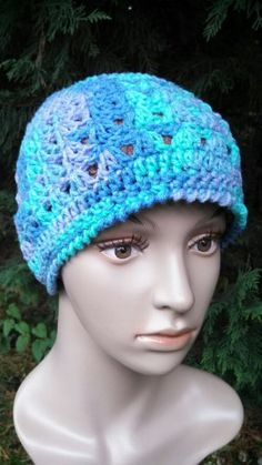 Amazing Grace Hat was designed as a Charity Crochet Hat Free Pattern.  In honor Breast Cancer Awareness.  .  Materials:  Worsted Weight Yarn...