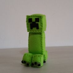 Felt handmade plush Creeper unofficial by BarbaraCreazioni on Etsy