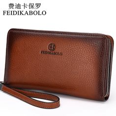 2016 Luxury Male Leather Purse Men's Clutch Wallets Handy Bags Business Carteras Mujer Wallets Men Black Brown Dollar Price