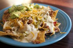 Loaded Nachos by Ree Drummond / The Pioneer Woman. Description from pinterest.com. I searched for this on bing.com/images
