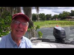 ▶ Water Hyacinth Project - Crystal River, Florida - YouTube