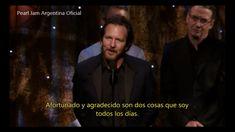 Pearl Jam inducción al Rock & Roll Hall Of Fame Subtitulado al español