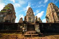 Photo about Third Tier of Pre Rup Temple, Siem Reap, Cambodia. Image of architecture, brick, buddhist - 34494830 Siem Reap, Angkor Wat, Art Tutorials, Cambodia, Monument Valley, To Go, Stock Photos, Explore, Adventure
