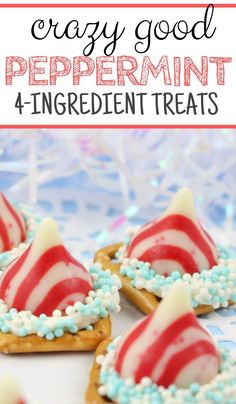 Do you love the taste of peppermint? Check out this pretzel dessert that is simple and easy. Perfect for a quick treat that takes minimal effort. #pepperminttreat #peppermintdessert #pretzeldessert #holidaytreat