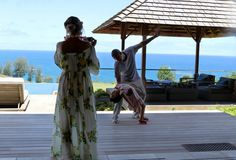 Jay Z, Beyonce, and Blue Ivy on vacation in Hawaii