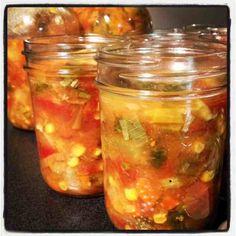 Healthy Kick Start Veggie Soup for 2013 - Healthy High (Veggie Paleo Soup) Mason Jar Lunch, Mason Jar Meals, Meals In A Jar, Mason Jars, Clean Eating Recipes, Easy Healthy Recipes, Veggie Recipes, Healthy Eating, Jar Recipes