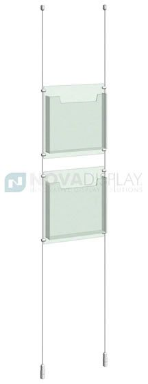 Case Magazine Brochure Holder Is Available As Wall Mounted