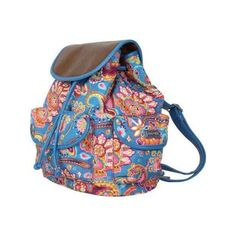 Hadaki by Kalencom Market Pack ($60) ❤ liked on Polyvore featuring bags, backpacks, none, drawstring shoulder bag, day pack backpack, convertible backpack shoulder bag, pocket backpack and paisley backpack